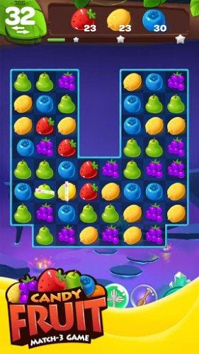 Скриншот для Sweet Fruit Candy - 2
