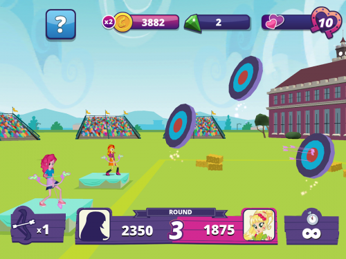 Скриншот для Equestria Girls - 1
