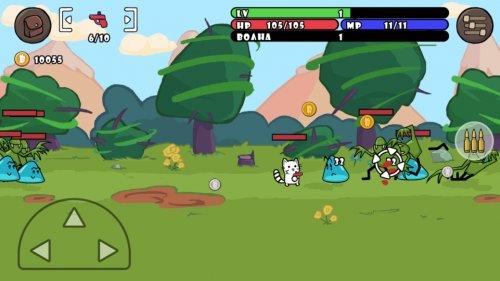 Скриншот для One Gun: Cat - 2