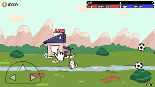 Скриншот для One Gun: Cat - 1
