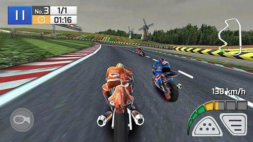 Скриншот для Реальный мотокросс 3D - 1
