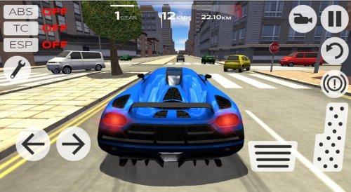 Скриншот для Extreme Car Driving Simulator - 3