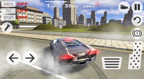 Скриншот для Extreme Car Driving Simulator - 1