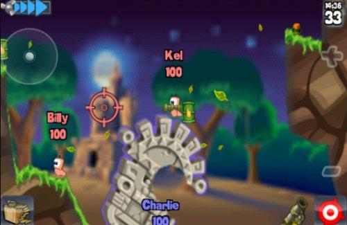 Скриншот для Worms HD - 2
