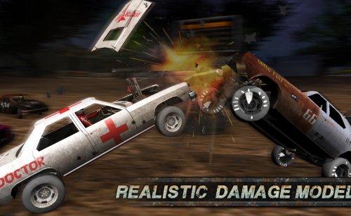 Скриншот для Demolition Derby: Crash Racing - 1