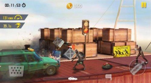 Скриншот для Зомби-роуд-побег - 2