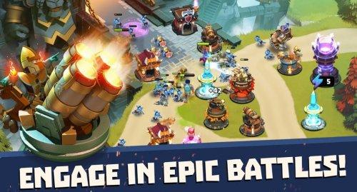 Скриншот для Castle Creeps TD - 1