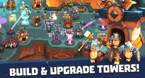 Скриншот для Castle Creeps TD - 3