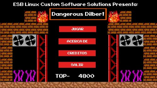 Скриншот для Dangerous Dilbert - 1