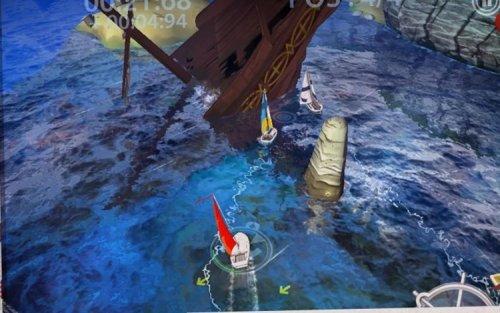 Скриншот для Sailboat Championship - 1