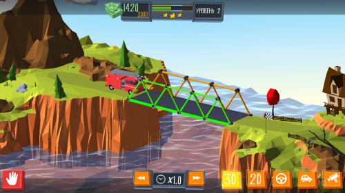 Скриншот для Build a Bridge! - 3