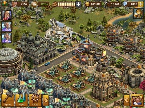 Скриншот для Forge of Empires - 1