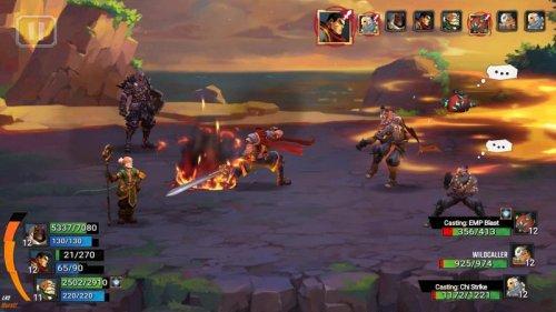 Скриншот для Battle Chasers: Nightwar - 1