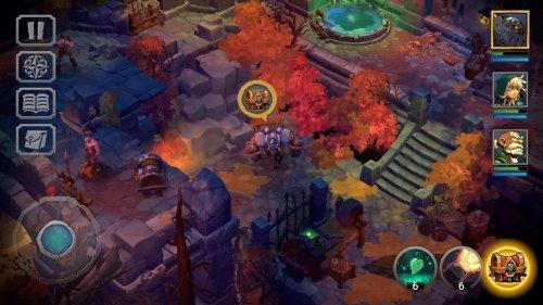 Скриншот для Battle Chasers: Nightwar - 3