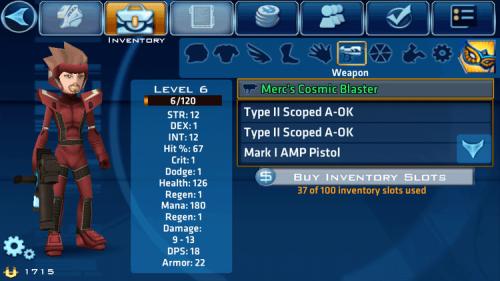 Скриншот для Star Legends: The BlackStar Chronicles - 2