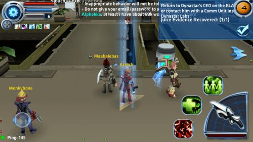 Скриншот для Star Legends: The BlackStar Chronicles - 1