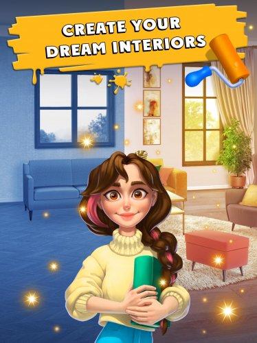 Скриншот для Interior Story: designing game - 1