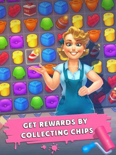 Скриншот для Interior Story: designing game - 3