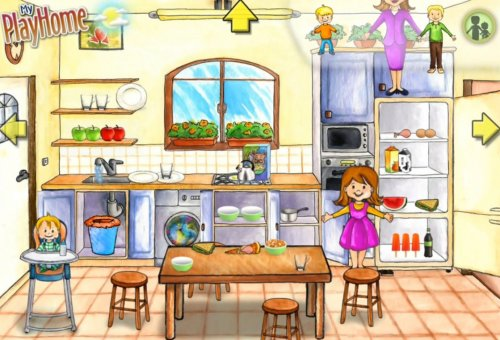 Скриншот для My PlayHome: Play Home Doll House - 3