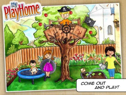 Скриншот для My PlayHome: Play Home Doll House - 2