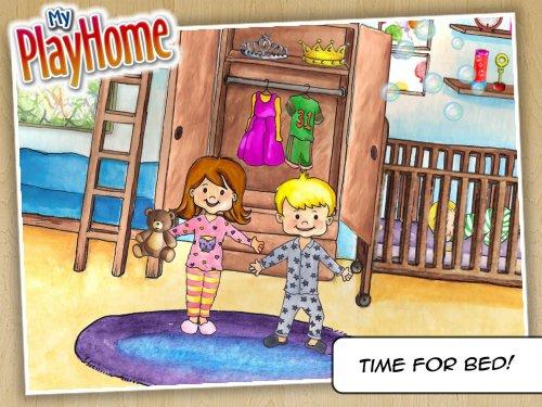 Скриншот для My PlayHome: Play Home Doll House - 1