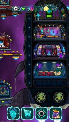 Скриншот для Doodle Jump Adventure - 2