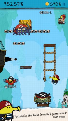 Скриншот для Doodle Jump Adventure - 3