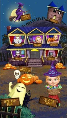 Скриншот для Sweet Baby Girl Halloween Fun - 1