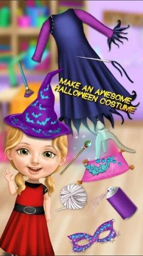 Скриншот для Sweet Baby Girl Halloween Fun - 2
