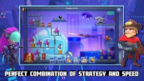 Скриншот для Bouncing Shot - 3