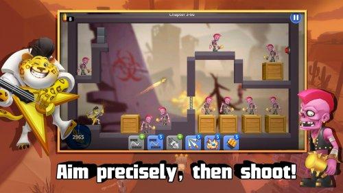 Скриншот для Bouncing Shot - 2