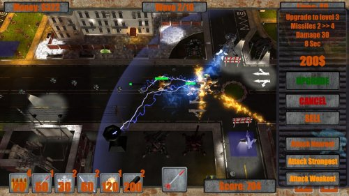 Скриншот для Next Generation Tower Defense - 2