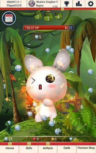 Скриншот для Tap Tap Buddy: Idle Clicker & Fun RPG Adventure - 2