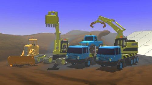 Скриншот для Little Crane 2: Mud Play - 3