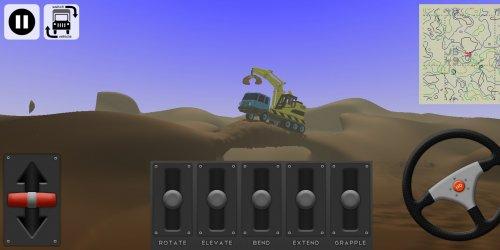 Скриншот для Little Crane 2: Mud Play - 2