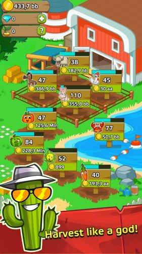 Скриншот для Farm and Click - Idle Farming Clicker PRO - 2