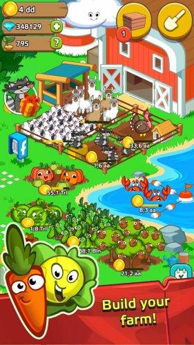 Скриншот для Farm and Click - Idle Farming Clicker PRO - 1