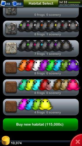 Скриншот для Pocket Frogs - 3