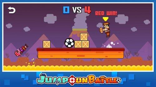 Скриншот для Jump Gun Battle - 1