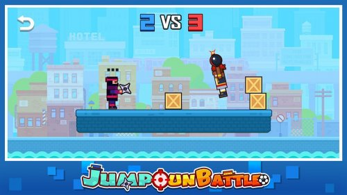 Скриншот для Jump Gun Battle - 2