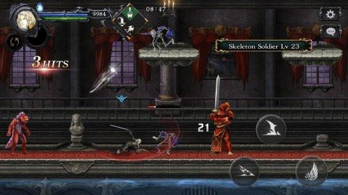Скриншот для Castlevania Grimoire of Souls - 2