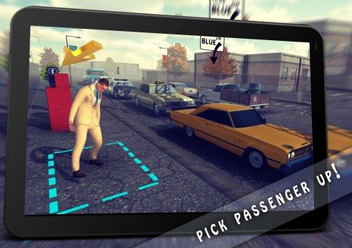 Скриншот для Taxi: Simulator Game 1976 - 3