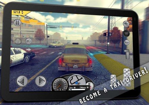Скриншот для Taxi: Simulator Game 1976 - 2