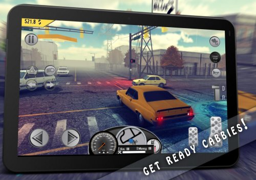 Скриншот для Taxi: Simulator Game 1976 - 1