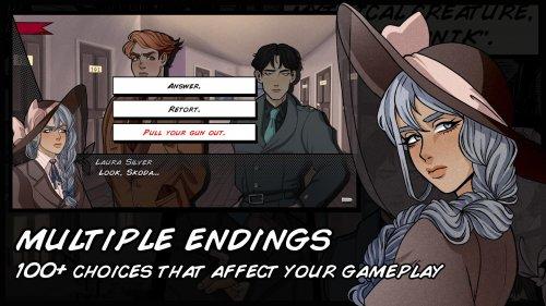 Скриншот для Misadventures of Laura Silver: Visual Novel - 1