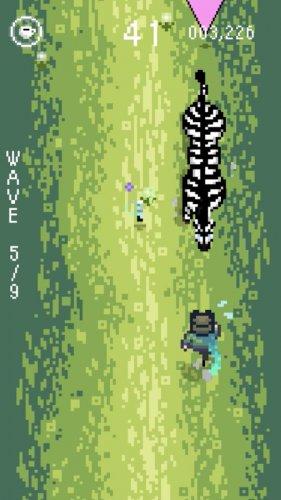 Скриншот для Zebra Dodge - 1