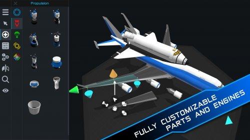 Скриншот для SimpleRockets 2 - 2