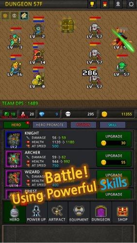 Скриншот для Grow Heroes - 1