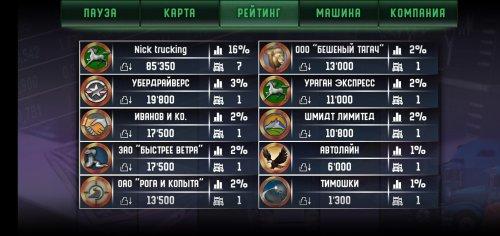 Скриншот для Дальнобойщики Mobile - 3