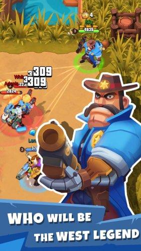 Скриншот для West Legends: 3v3 Team Battle - 1